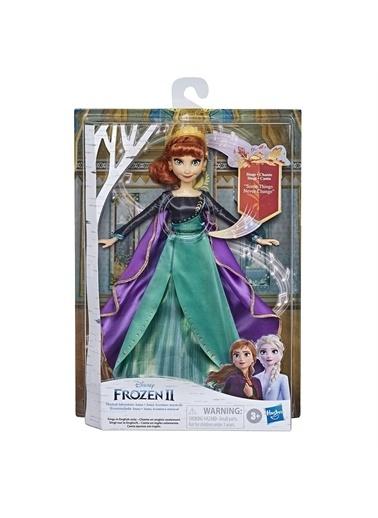 Hasbro Hasbro E8881 Disney Frozen 2 Şarkı Söyleyen Kraliçe Anna Oyuncak Bebek Renkli
